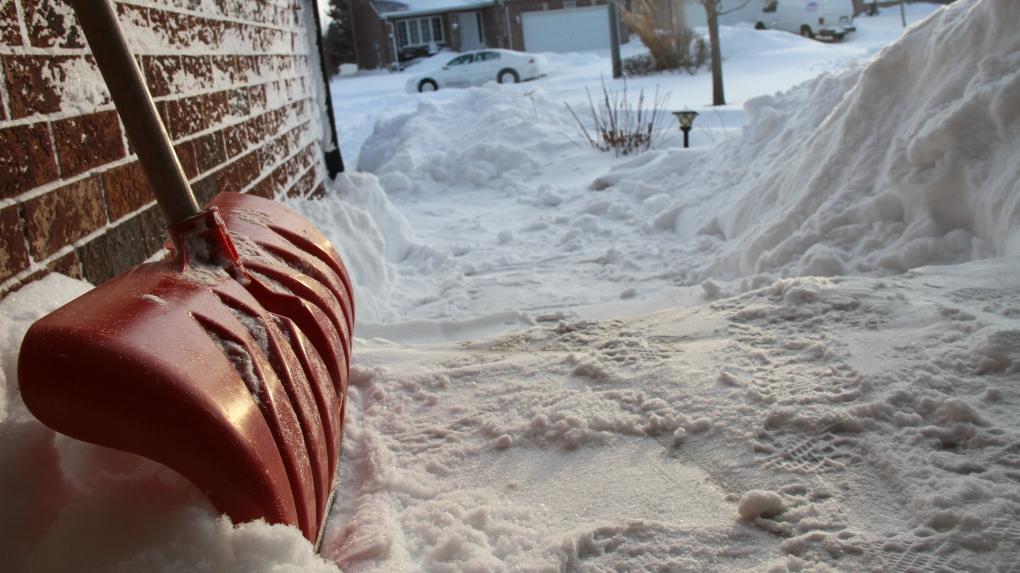 Snow shovel in Windsor