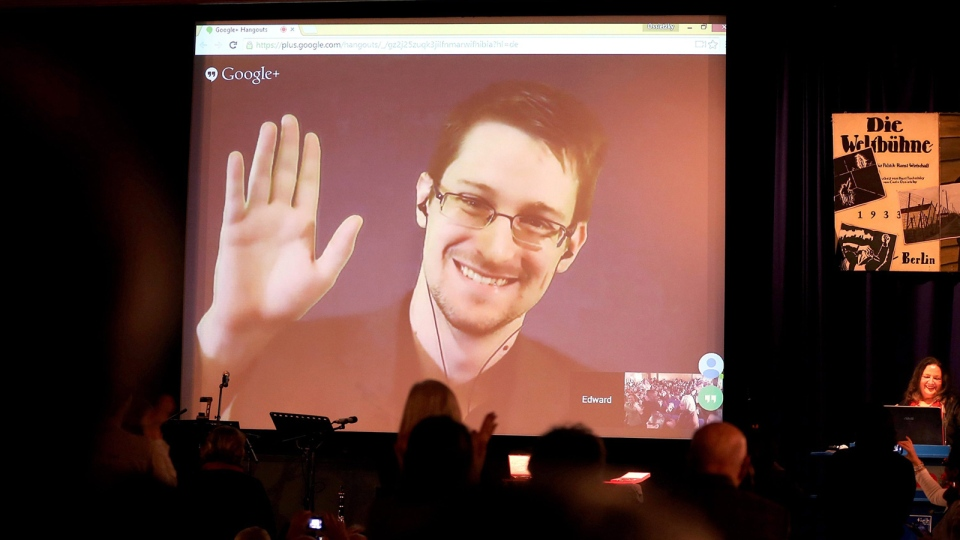 Edward Snowden to address Toronto high school