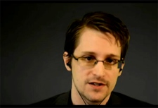 Edward Snowden speaks at UCC