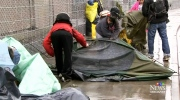 CTV Vancouver: City clears Surrey homeless camp