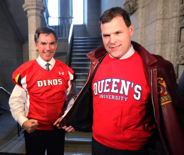 Jim Prentice and John Baird