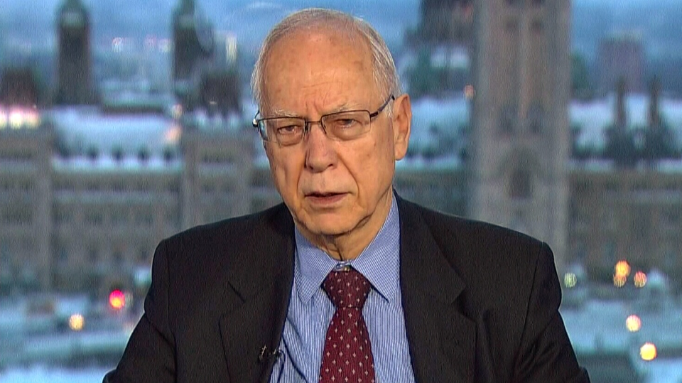 Former diplomat Paul Heinbecker appears on Canada AM, Tuesday, Feb. 3, 2015.