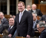 Foreign Minister John Baird speaks in the House of Commons in Ottawa on Tuesday, Feb. 3, 2015. (Adrian Wyld / THE CANADIAN PRESS)