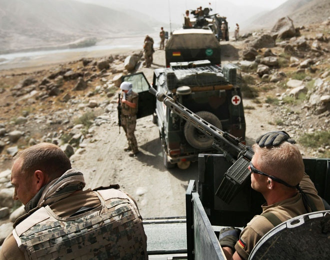 Attack mot militaranlaggning i kabul