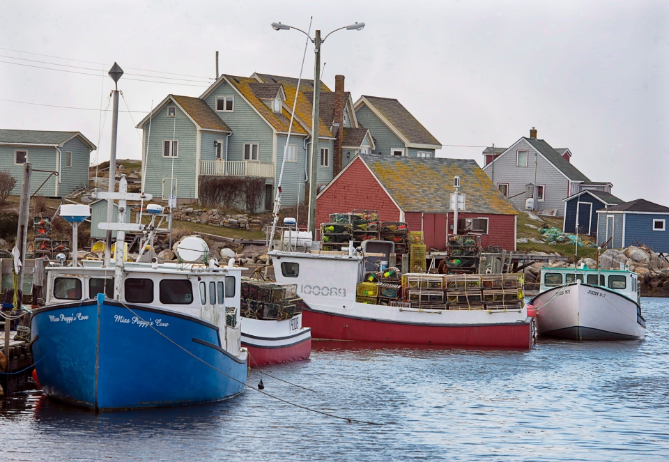 Claws out race for best spots kicks off lobster season in for Nova scotia fishing