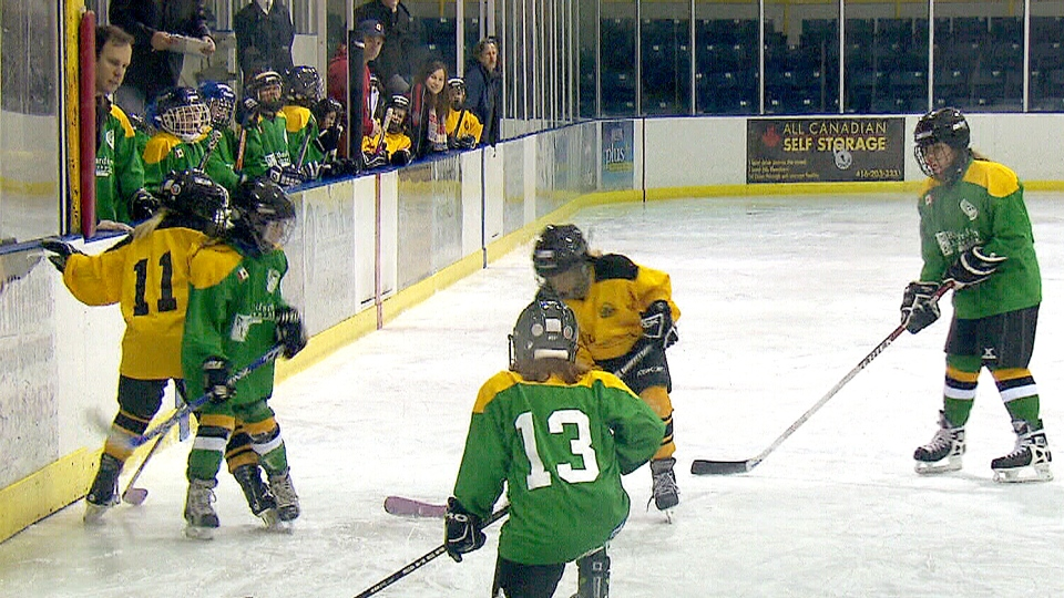 The Toronto Leaside Girls Hockey Association has brought in a no-touch policy for coaches.