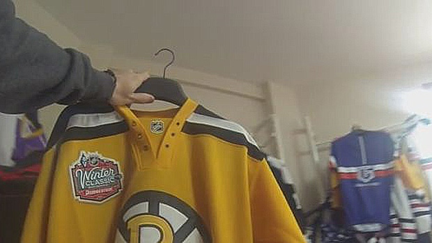 Fake winter classic jersey