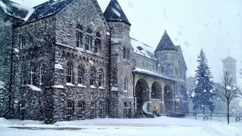 Snow day at Queen's University