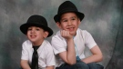 Noah Barthe, left, and Connor Barthe pose in this undated photo posted on the Facebook page of Mandy Trecartin. (HO - Facebook / THE CANADIAN PRESS)