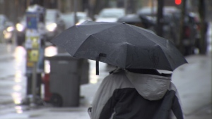 Vancouver Island could see as much as 120 millimetres of rain over the weekend. Aug. 28, 2015. (CTV)