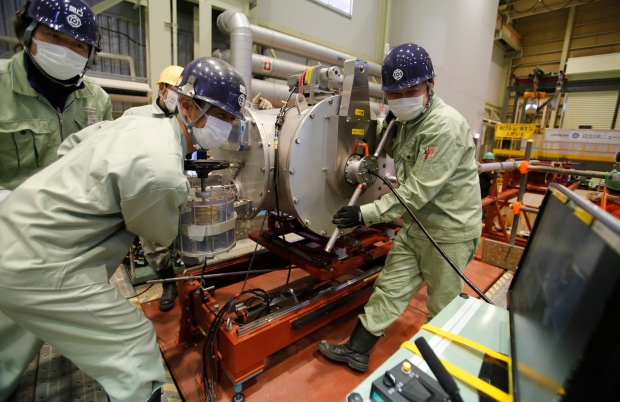 Robot ready to examine nuclear plant