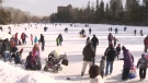 Skating has returned to Bowness Park. On Saturday, the park officially reopened.