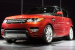 The 2014 Range Rover Sport is unveiled during the 2013 New York International Auto Show at the Jacob K. Javits Convention Center on March 27, 2013, in New York. (AP / John Minchillo)