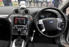 The interior of a driverless car during testing at the headquarters of motor industry research organization MIRA at Nuneaton in the West Midlands, England on July 30, 2014. (PA / Rui Vieira / AP Photo)