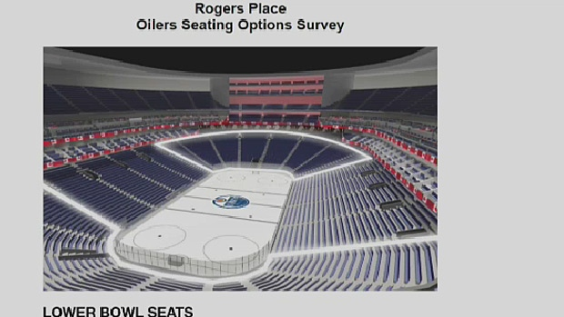 edmonton oilers seat chart: Oilers fans given glimpse of seating options and prices for rogers