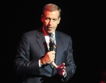 In this Nov. 5, 2014 file photo, Brian Williams speaks at the 8th Annual Stand Up For Heroes, presented by New York Comedy Festival and The Bob Woodruff Foundation in New York. (Photo by Brad Barket /Invision /AP Photo)