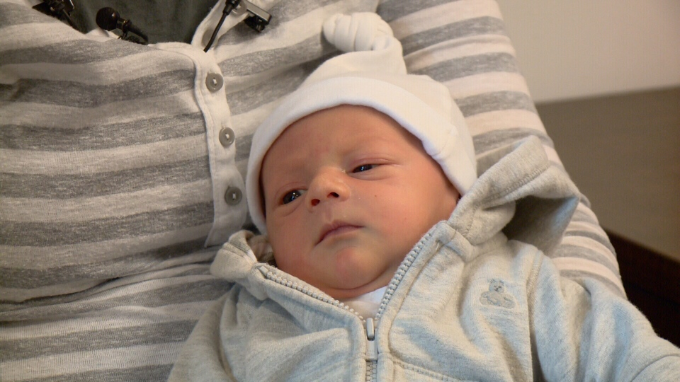 """Declan O'Connor is """"absolute perfection"""" says mom."""