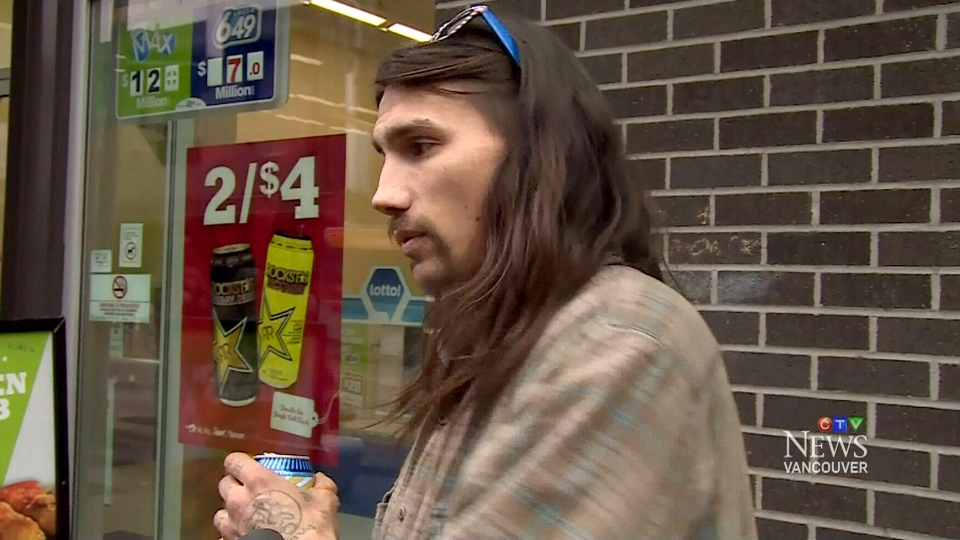 Vancouver homeless man Grant Faithful speaks to CTV Vancouver
