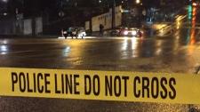 Pedestrian crash