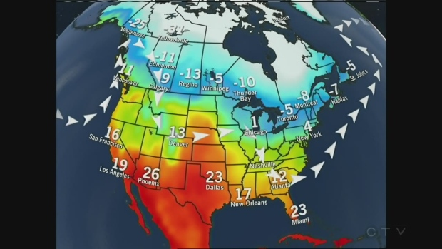 Weather Kitchener: CTV Kitchener: Feb. 10 Weather Update