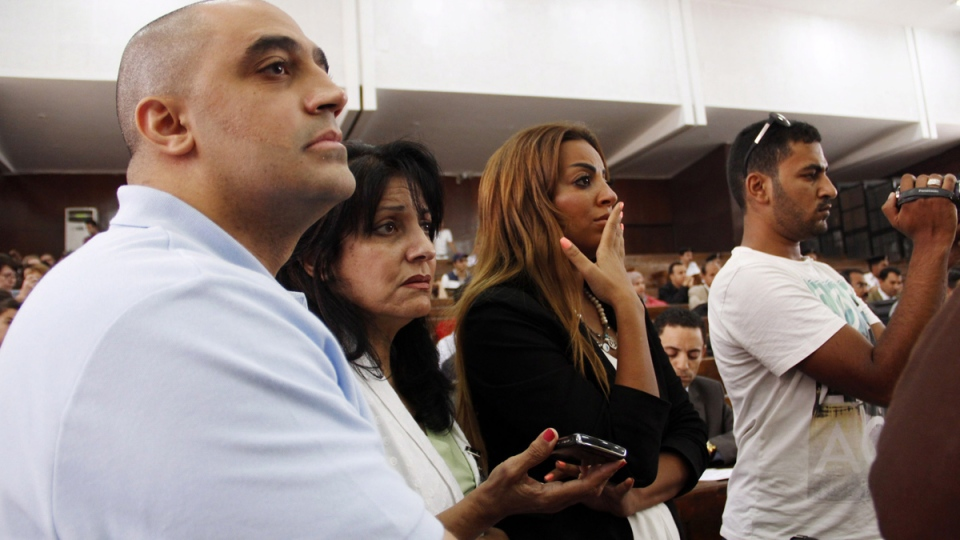 Adel Fahmy, brother of Mohamed Fahmy, in Egypt