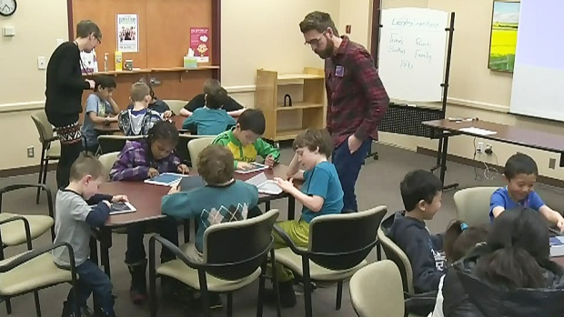 CTV Edmonton: Activities at your local library