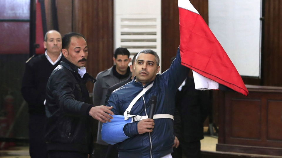 Mohamed Fahmy released on bail in Egypt court