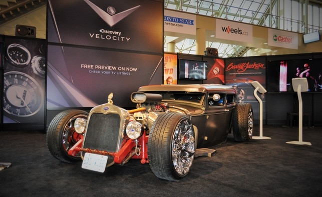 Discovery Velocity booth at CIAS