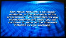 Sun News Network goes off air