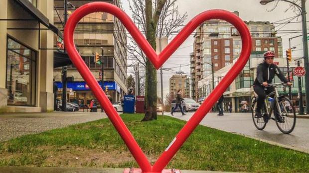 heart-shaped racks