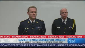 CTV News Channel: Plot not characterized as terror