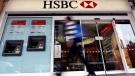 A pedestrian passes a branch of HSBC bank in London, U.K., Feb. 27, 2012. (AP / Kirsty Wigglesworth, File)