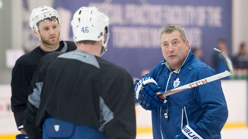 As Deadline Looms Maple Leafs Coach Tells Players Not To Focus On Trade Rumours Ctv News