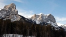 The Rocky Mountains as viewed from Canmore, Alta., on Saturday, Dec. 15, 2012. (Jeff McIntosh / The Canadian Press)