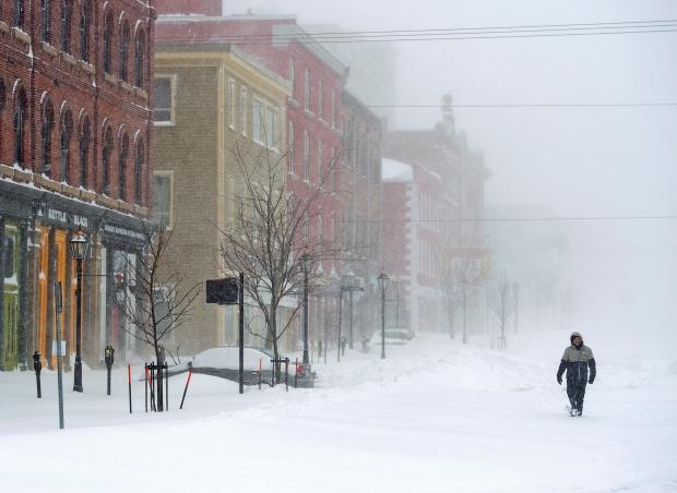 Snowstorm pounds Charlottetown
