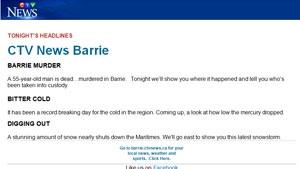 barrie headlines