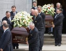 Alban Garon funeral