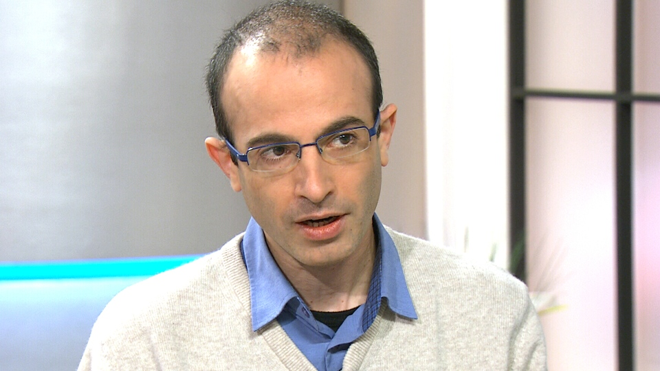 Israeli historian Yuval Harari appears on Canada AM from CTV studios in Toronto, Tuesday, Feb. 17, 2015.