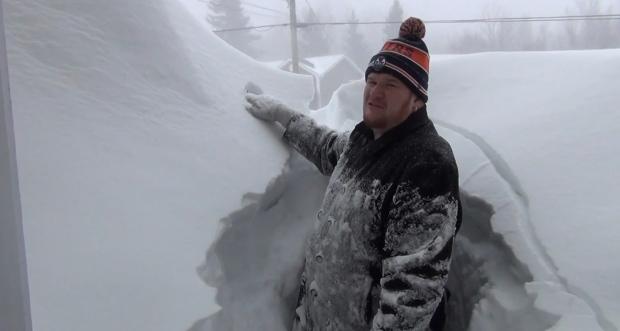 Snowstorm Kevin McGreat