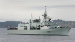 FILE -- HMCS Calgary on Oct. 24, 2008. (THE CANADIAN PRESS / Deddeda Stemler)