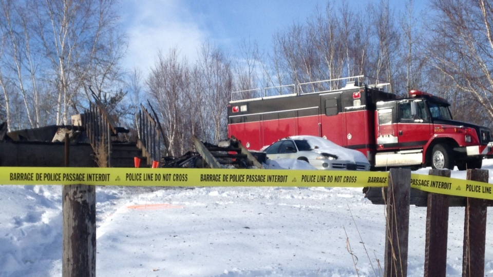 Two children died Feb. 17 after a house fire on the Makwa Sahgaiehcan First Nation (Jeremy Thompson/Newcap Television)