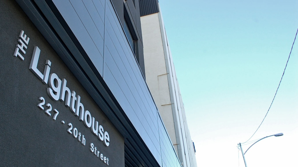 The Lighthouse Supported Living in downtown Saskatoon.