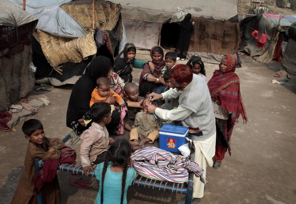 Eradication of Polio in Pakistan Polio Vaccines in Pakistan