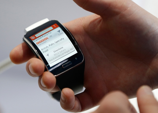 Review  Samsung s Gear S and Sony s SmartWatch 3  3ba80067629
