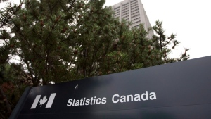 Statistics Canada said Friday that the surplus of $1.4 billion was the largest since July 2014 and compared with a revised deficit of nearly $2 billion in December. (Sean Kilpatrick / The Canadian Press)