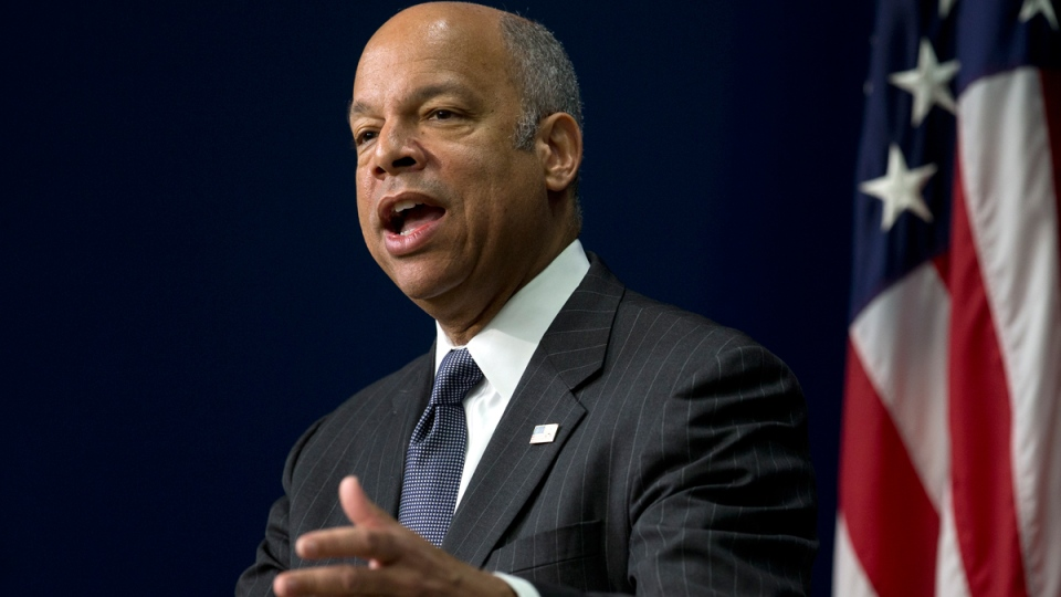 U.S. Homeland Security Secretary Jeh Johnson during the White House Summit on Countering Violent Extremism, on Feb. 18, 2015. (AP / Carolyn Kaster)