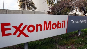 The ExxonMobil Torrance Refinery in Torrance, Calif., on Jan. 30, 2012. (AP / Reed Saxon)