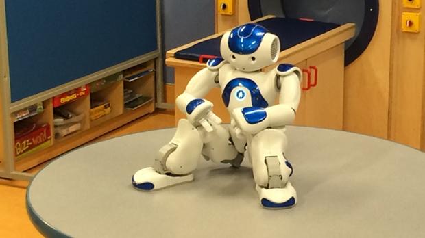 MEDi (Medicine and Engineering Designing Intelligence) the Alberta Children's Hospital's robot