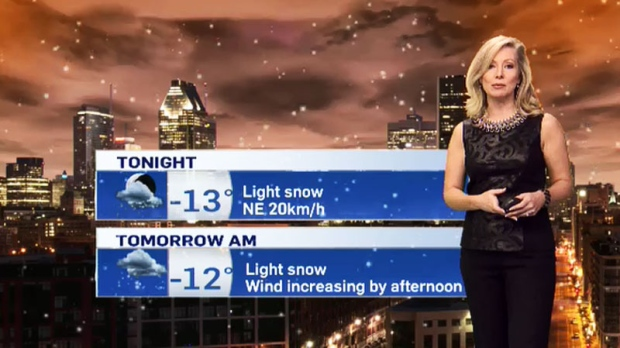 Montreal weather: Snow in the distance | CTV News