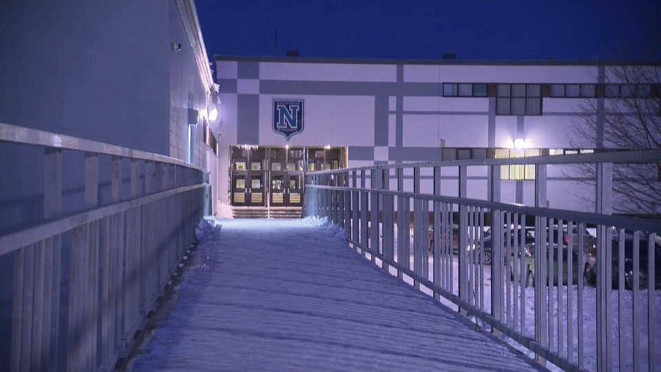 Quebec City school where strip searched occurred.